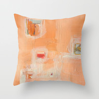 octoberfest Throw Pillow by Linnea Heide