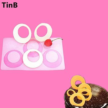 New Round shape 3D Silicone Cake Mold Baking Pastry Tools Non-stick Silicone Molds Cake Cupcake Decorating Tools Chocolate mould