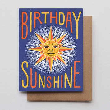 Birthday Sunshine