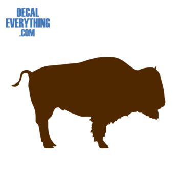 Buffalo Decal - Animal Stickers