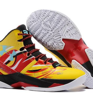 Under Armour Curry V2 Monkey King Basketball Shoes 03ee821b38