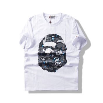 A Bathing Ape Summer Short Sleeve Unisex Tee[10057983623]