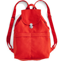 Canvas Backpack: Poppy