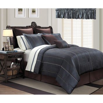 Ice Age 16-piece Contemporary Grey Room in a Bag with Sheet Set | Overstock.com Shopping - The Best Deals on Bed-in-a-Bag