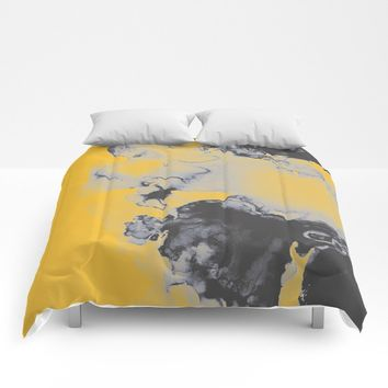 Lellow Comforters by duckyb