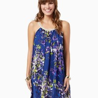 Twilight Floral Trapeze Dress | Fashion Accessories | charming charlie