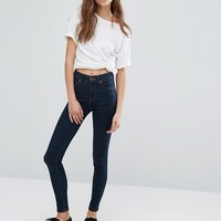 Dr Denim Lexy Mid Rise Second Skin Super Skinny Jeans at asos.com