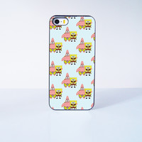 Spongebob and Patrick Collection  Plastic Case Cover for Apple iPhone 5s 5 4 4s 5c 6 6s Plus
