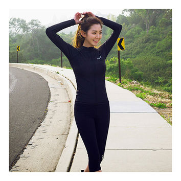 Diving Suit Surfing Outdoor Anti-jellyfish Black Tops   S