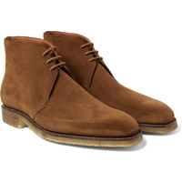 George Cleverley Nathan Suede Desert Boots | MR PORTER