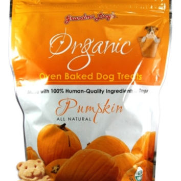Grandma Lucy's Organic Pumpkin Baked Dog Treats 14oz