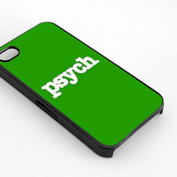 PSYCH design for iphone 4/4s case, iphone 5/5s/5c case, samsung s3/s4 case cover