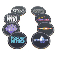 Doctor Who Logo Coaster Set