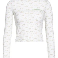 Eckhaus Latta Lapped Baby Turtleneck | Nordstrom
