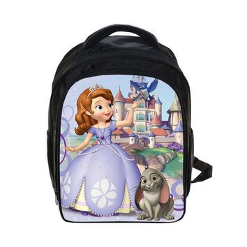 13 Inch Princess Sofia Anna Elsa School Bags for Kindergarten Children Kds Backpack for Girls Children's Backpacks Mochila