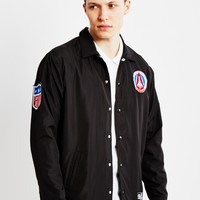Billionaire Boys Club BBC X Majestic Team Coach Jacket Black - Billionaire Boys Club - Brands at The Idle Man