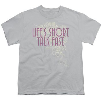Gilmore Girls - Lifes Short Short Sleeve Youth 18/1