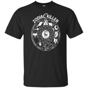 The Zodiac Killer Aquarius Aries Cancer t shirt 1142