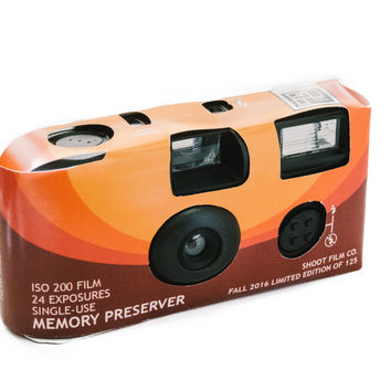 """Shoot Film Co. Brand """"Memory Preserver"""" - One-Time Use 35mm Film Camera (Limited Edition of 125)"""