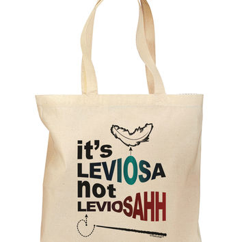 It's LeviOsa not LeviosAHH Grocery Tote Bag