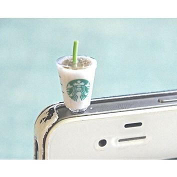 starbucks drink phone plug
