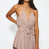 Norwalk Playsuit - Beige