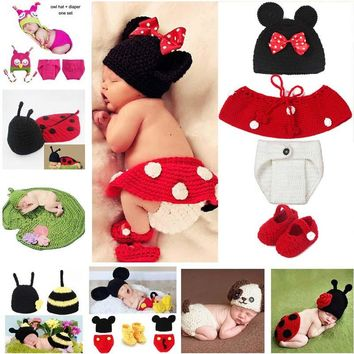 Baby Photography Props Baby Knitted Costume Outfits