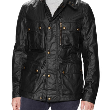 Belstaff Men's Trialmaster Signature Waxed Jacket - Brown -