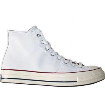DCCKHD9 Converse All Star Chuck Taylor 70 Hi Opt - White/Egret Leather High Top Sneaker