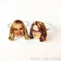 Tina Fey Amy Poehler Thin Band Ring