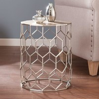 Clarissa Metal Accent Table-Southern Enterprises