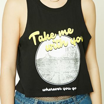 Take Me With You Muscle Tee