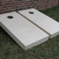 Non Painted Cornhole Boards | DIY Corn Hole Boards | Corn Toss | Bag Toss | Bean Bag | UnPainted | Plain | Non Warping