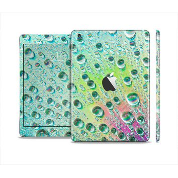 The RainBow WaterDrops Skin Set for the Apple iPad Mini 4