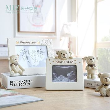Lovely Bear Baby Photo Frame