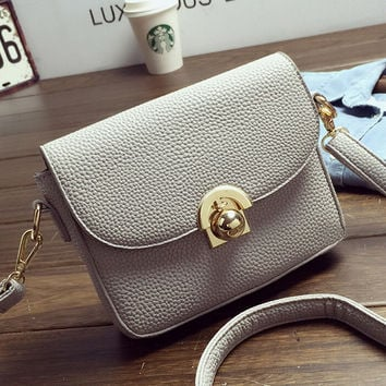 Female Casual High Quality Crossbody Messenger Bags Fashion Women Leather Shoulder Bag Chic Handbag Gift 62