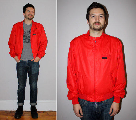 on sale vintage 80s members only jacket from past lives vintage