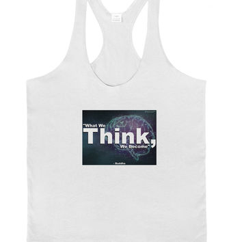 What We Think Buddha Mens String Tank Top