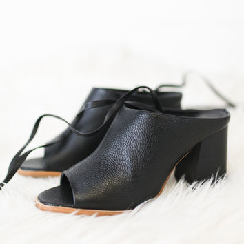 Rango Lace Up Mule