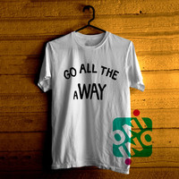 Go All The Away, Luke Hemmings 5sos Tshirt For Men / Women Shirt Color Tees
