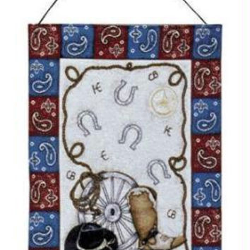 Hanging Tapestry - Cowboy Theme