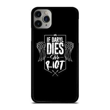 IF DARYL DIXON DIES WALKING DEAD iPhone Case Cover