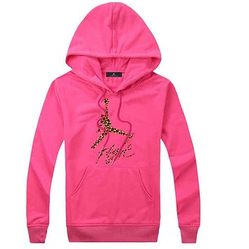 Trendsetter Jordan Women Men Fashion Casual Top Sweater Pullover Hoodie