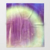 Experimental Vision Throw Blanket by Octavia Soldani | Society6