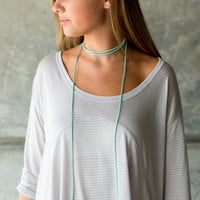Betsy Pittard Designs India Necklace - Aqua