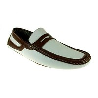 Men's L-333 Casual Moccasin Slip On Penny Loafer Shoes