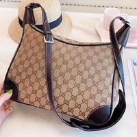 GUCCI New fashion more letter leather shopping leisure women handbag
