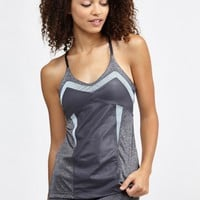 Grace Tank in Heather Grey/Wet Grey/Crystal by Splits59 | Tops | BANDIER