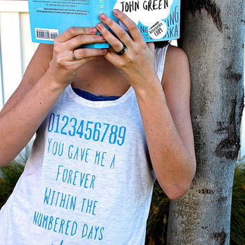 "John Green ""The Fault in our Stars"" Quote Shirt"