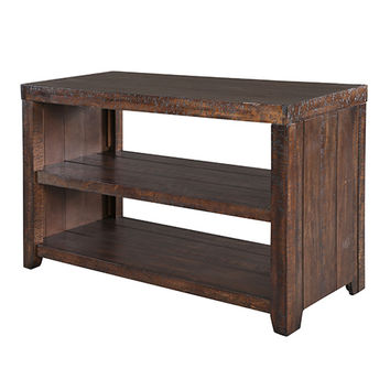Magnussen Home T2528-73 Caitlyn Distressed Natural Sofa Table